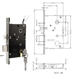 Image 5 - Serrure de porte intelligente Bluetooth