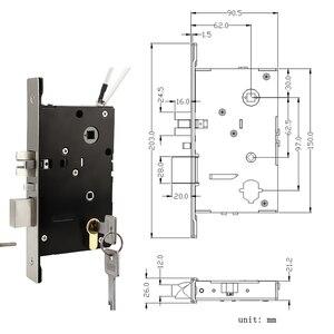 Image 5 - Smart Bluetooth APP Passwort Türschloss Keyless Digitale Türschloss Passwort + 6 Karten + 2 Mechanischen Tasten Für Hause