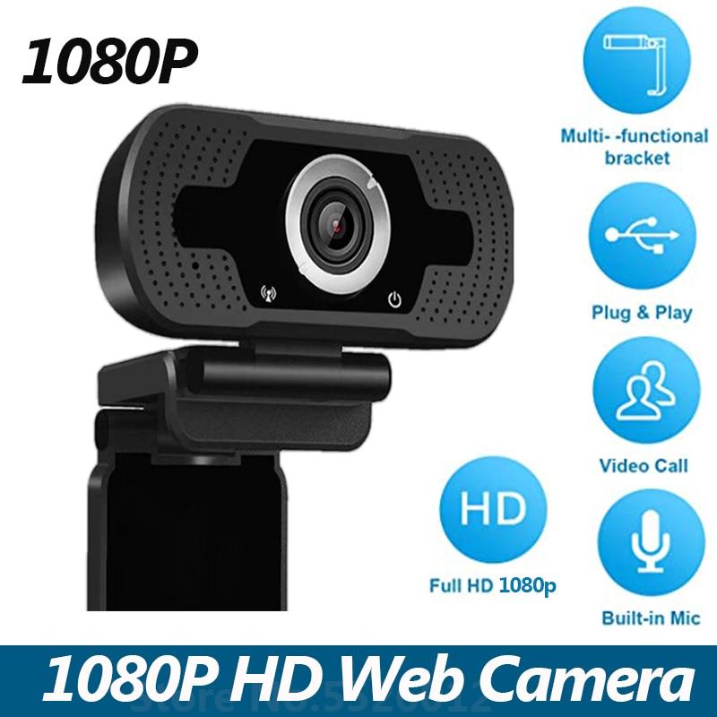 Горячая продажа 1080P Веб камера USB Live веб камера Встроенный микрофон видео для ПК ноутбука для потоковой записи|Веб-камеры|   | АлиЭкспресс
