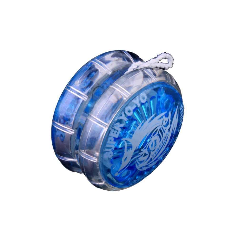 Caldo! OCDAY 1pc di Plastica Facile Da trasportare Yo-Yo Del Partito Colorato Yo-Yo Yo-Yo Giocattoli Con Spinning Stringa Per I Bambini Del Ragazzo giocattoli Regalo Giocattoli Classici