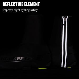 Image 3 - ROCKBROS cubierta de calzado para bicicleta, zapatos chanclos para ciclismo de montaña, resistentes al viento, para invierno