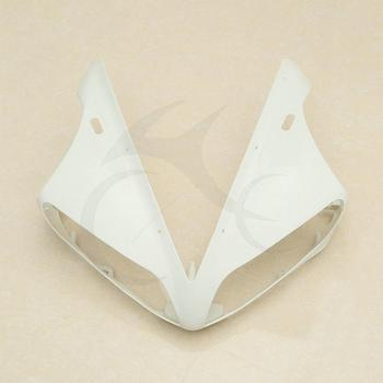 Motorcycle Unpainted Upper Front Fairing Cowl Nose For YAMAHA YZF R1 YZF-R1 1998-2019 2012-2014 2004-2006 yzf r1 motorcycle for yamaha yzfr6 1999 2017 r6s 2003 2008 yzf r1 1998 2014 aluminum motorcycle front footrests foot pegs