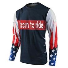 Frete grátis 2020 rapidamente mx/atv corrida flexair honr dos homens mx offroad jérsei t camisa motocross adulto engrenagem