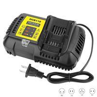 10.8V 14.4V 20V MAX Fast Battery Charger DCB118 4.5A Fit for Dewalt Battery DCB203BT DCB204BT DCB127 Replace DCB112 DCB115