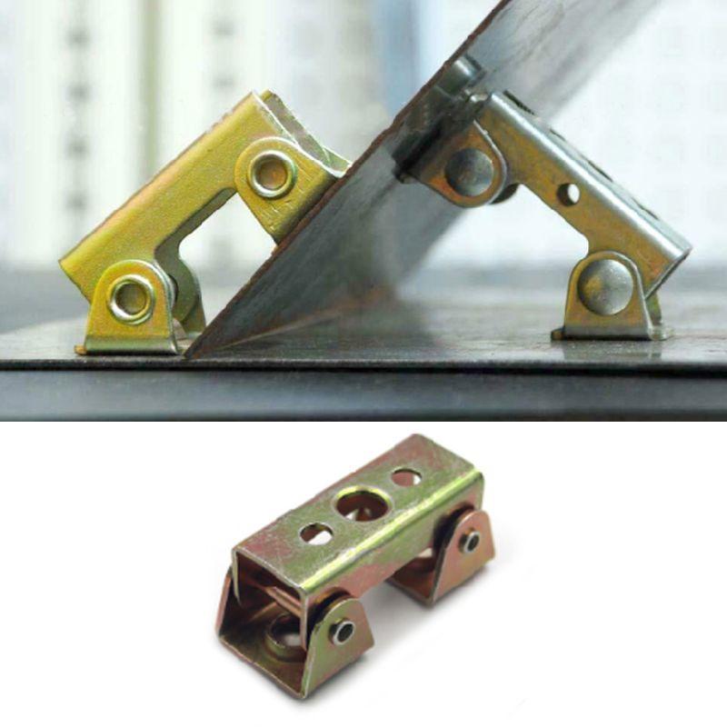 V Type Clamps Welding Holder Fixture Adjustable Strong Bracket Weld Hand Tool X4YD