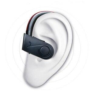 Image 5 - Su geçirmez alev kablosuz kulaklık Bluetooth spor kulaklık gürültü iptal kulaklık mikrofon için iphone X Xiaomi Andriod için