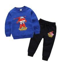 Super Flügel Kleidung 2019 Frühling Herbst Baby Jungen Kleidung Sets Langarm Kinder Sweatshirts + Hose Tollder Mädchen Kleidung
