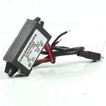 DC 12V to 5V 3A 15W Waterproof Converter Mini USB Car Power Adapter Interior Accessorie Cables Adapters
