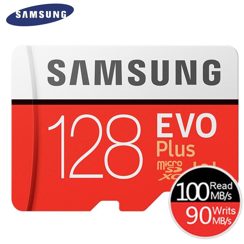 SAMSUNG Memory Card Micro SD 256GB 32GB 64GB 128GB 512G SDHC SDXC Grade EVOplus Class 10 C10 UHS TF SD Cards Trans Flash Microsd