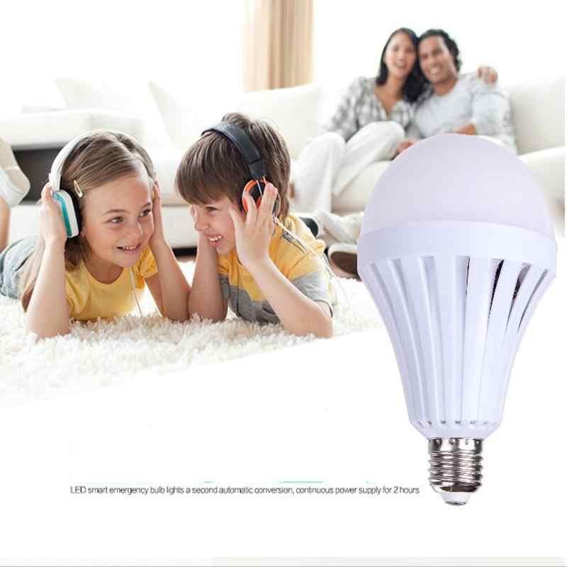 B22 7 Вт/9 Вт/12 Вт светодиодный автоматический Быстрая зарядка лампа 85-265 в перезаряжаемая батарея лампа освещения