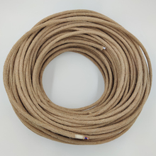 2*0.75mm Retro Electrical Wire Yellow Hemp Rope Pendant Lamp Cord Vintage Edison E27 Lamp Base Overhead Cable