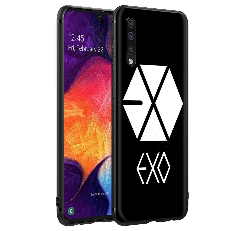Webbedepp Kpop Exo Lucky Case Voor Samsung Galaxy S7 S8 S9 S10 Plus Rand Note 10 8 9 A10 A20 a30 A40 A50 A60 A70