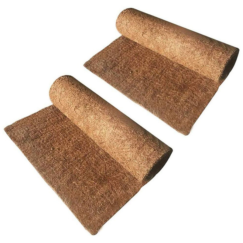 Reptile Mats, Coconut Palm Carpet, Used to Pet Lizards, Snakes, Turtles, Rabbits and Other Reptile Supplies (2 Photos)