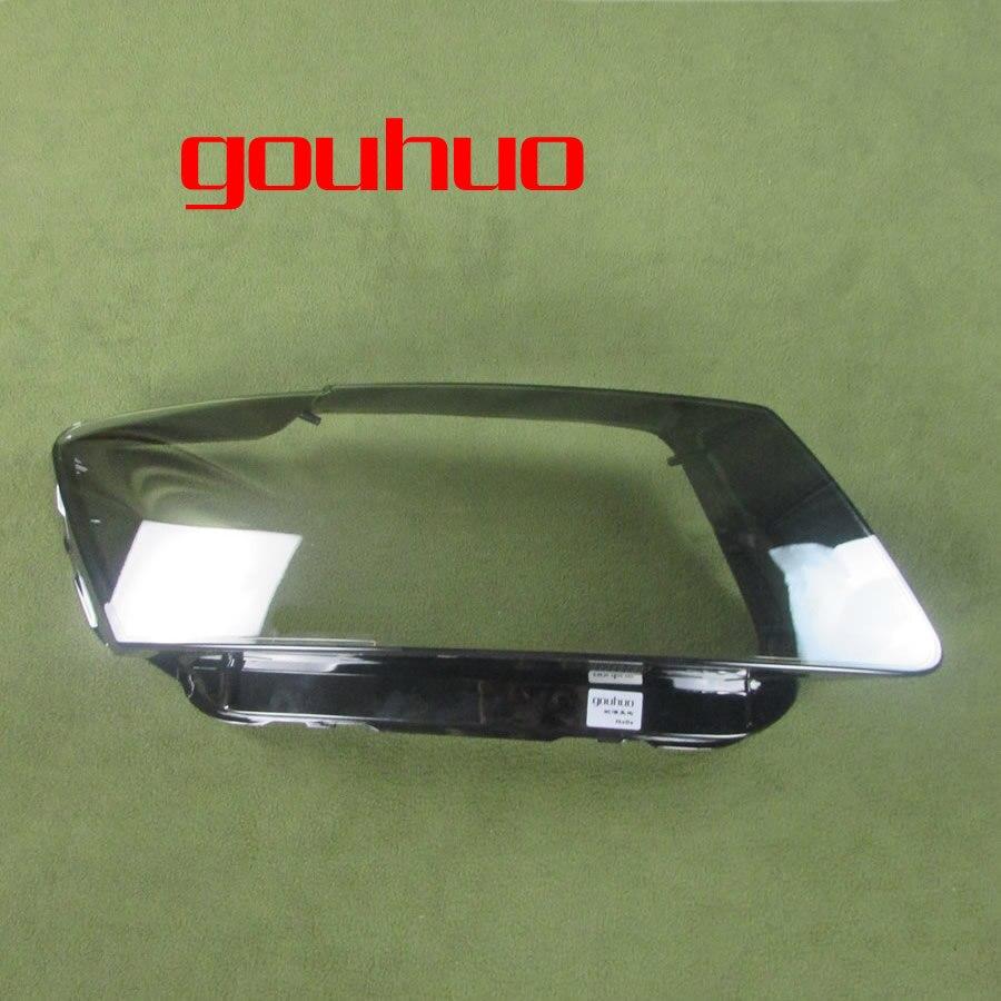 Para Audi Q5 2010 2011 2012 2013 faro cubierta transparente pantalla lámpara cristal faro carcasa lente cristal INJORA 2 uds Metal Pedal y caja de receptor para 1:10 RC Rock Crawler coche Axial Scx10 SCX10 II 90046 Jeep Wrangler Shell cuerpo
