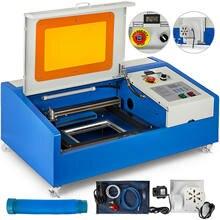 40w co2 gravação a laser máquina de corte gravador a laser com porta usb e display digital 220v/110v