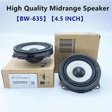 4.5 Inch Door Midrange Speaker For BMW F20 F25 F30 F32 G30 G01 F48 3 5 X1 5 Series Loudspeakers Audio Horn Hi-Fi Music Speakers