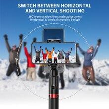 Selfie Stick treppiede portatile All in One 1.3 metri trasmissione in diretta telefono universale 360 invisibile staffa da viaggio portatile