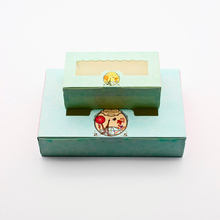 50 PCS Paper Gift Box Wedding Candy Cookie Sweet Gift Boxes Wedding Party Kids Birthday Favor Cake Gift Box Packaging Window цена и фото