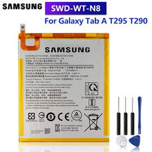 Samsung Original Replacement Battery SWD-WT-N8 For Samsung Galaxy Tab A T295 T290 Authentic Tablet Battery 5100mAh witblue new inner exchange 3000mah 3 7v battery pack for 7 wexler tab a742 a740 a744 dexp ursus a370i tablet replacement