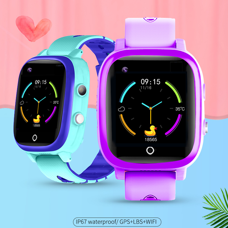 S5 Waterproof Smart Watch Kids <font><b>4G</b></font> GPS WIFI LBS Tracker Phone Watch SOS Video Call for Children Anti Lost Monitor Baby <font><b>SmartWatch</b></font> image