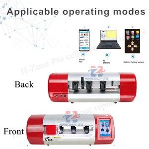 Najnowszy Auto maszyna do cięcia folii ekran LCD do telefonu powrót obudowa ochronna maszyna do cięcia telefonu zegarek Airpods Camera