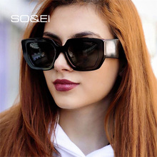 SO&EI Ins Popular Retro Oversized Cat Eye Sunglasse