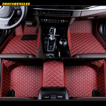 zhoushenglee Custom car floor mats for Mazda All Models mazda 3 5 6 8 CX-5 CX-7 MX-5 CX-9 CX-4 atenza car styling car accessorie image