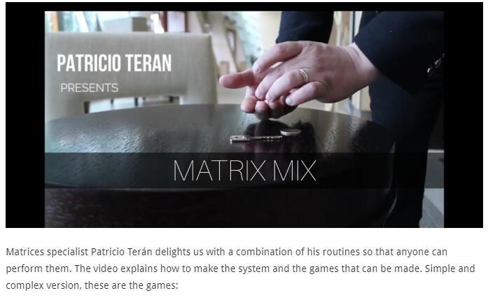 Matrix Mix By Patricio Terán