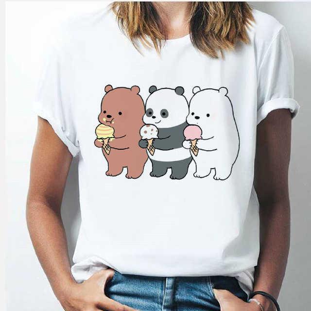 PANDA i giovani T-shirt bear COMIC look Cutie CUTE ORSO