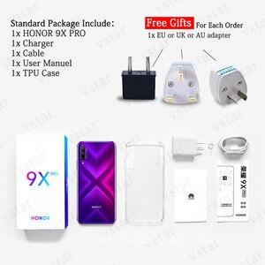 Image 4 - Original Honor 9X Pro Smartphone 6.59 inch 8GB 256GB Kirin 810 Octa Core 48MP Pop Up Front Camera 16MP