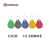 100 Pcs/lot 13 5 MHZ CUID Veränderbar MF S50 1K IC Schlüssel Keyfobs Token Tags S50 NFC Klon kopie Block 0 Writable14443A-in IC/ID-Karte aus Sicherheit und Schutz bei