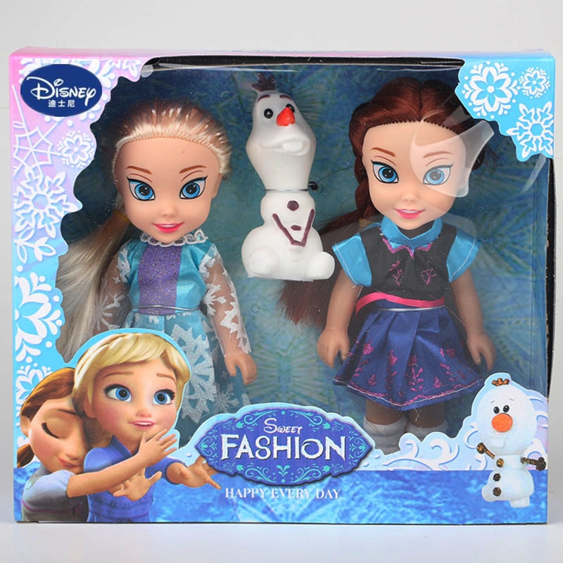 Disney Frozen Princess Anna Elsa Doll Girl Gift