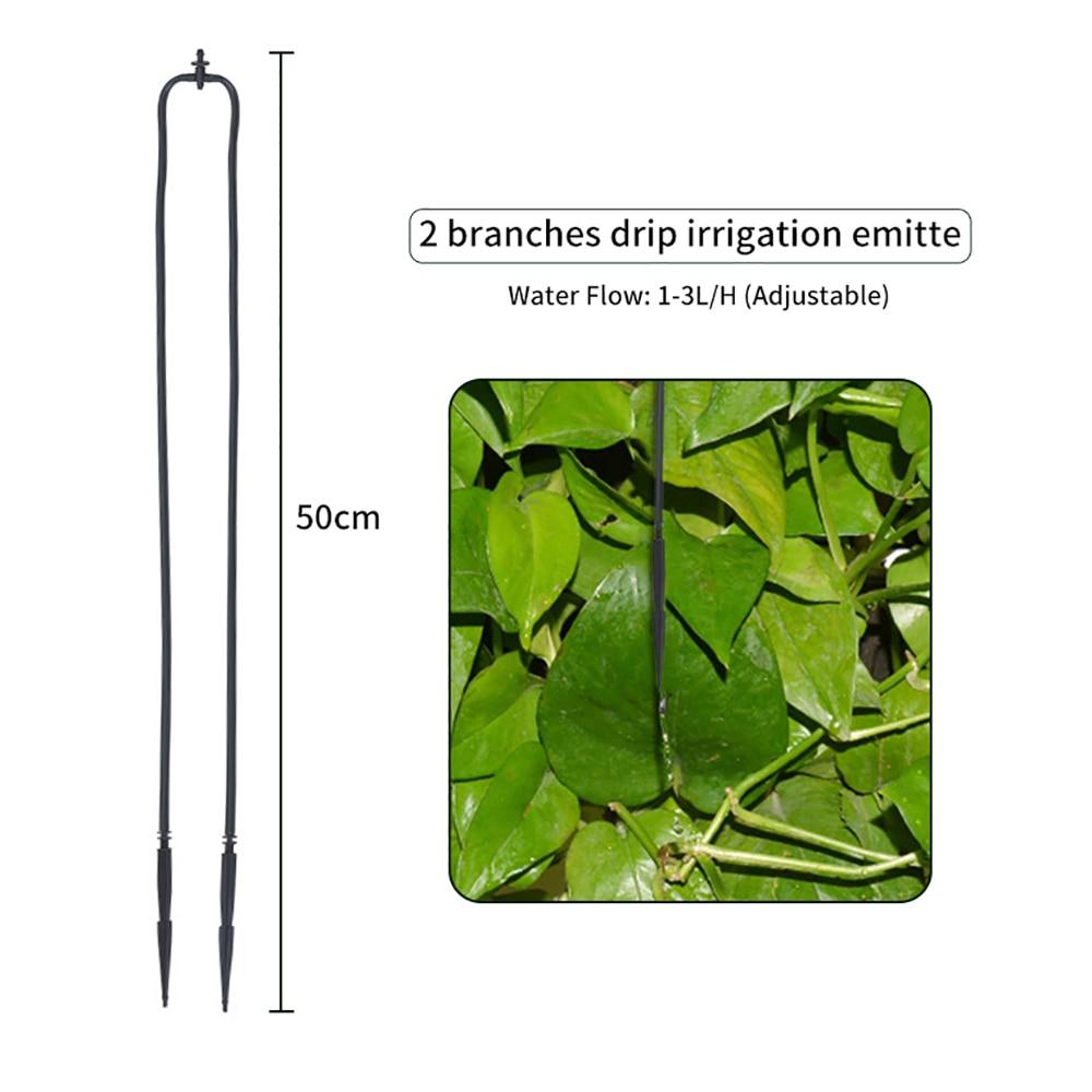 Регулируемый сушки набор для орошения растений самополивающаяся система орошения оросительное сопло& Кол& трубка для запотевание