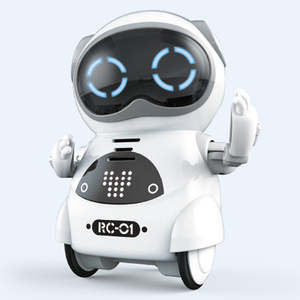 Toys Robot Pocket Talking Telling-Story Mini Ce Singing Record Gift Voice-Recognition