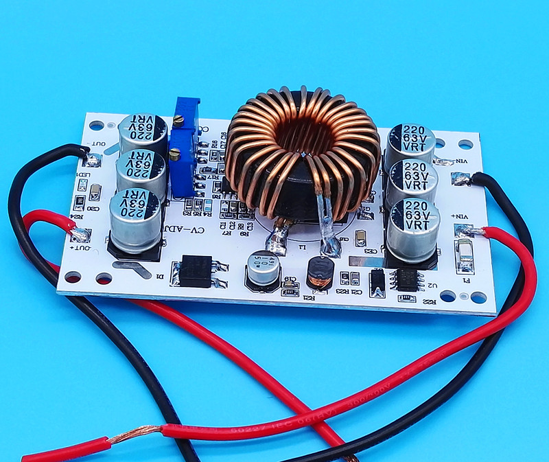<font><b>600W</b></font> Aluminum Plate <font><b>DC</b></font>-<font><b>DC</b></font> Boost Converter Adjustable <font><b>10A</b></font> <font><b>Step</b></font> <font><b>Up</b></font> Constant Current Power Supply Module Led Driver image