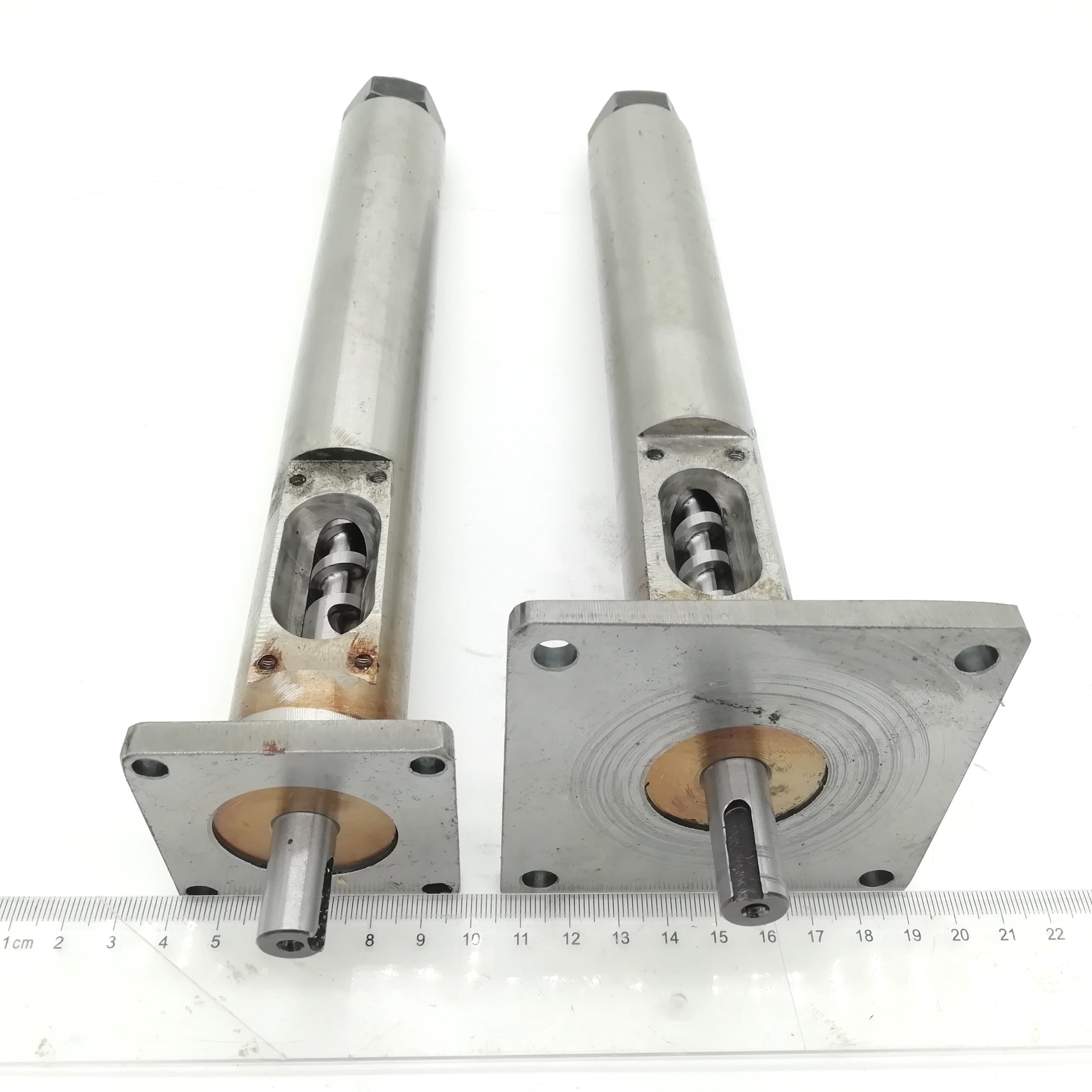 Sold as a set 12mm Dia Extruder Screw Barrel with 1 75 2 5mm Nozzle and 3PCS 35 40 220V Band Heater