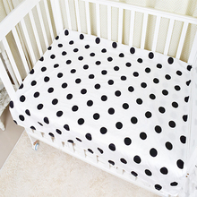 цена на Crib Mattress Cover Baby Bedding  Bed Sheets Baby Crib Cot  Soft for Toddler Cotton Sheets Breathable
