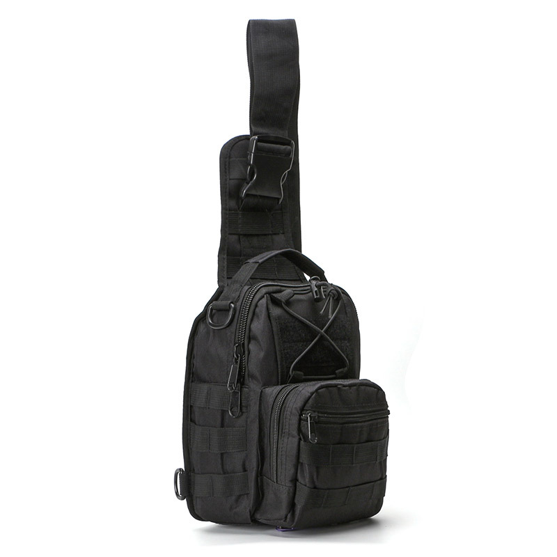 Small Chest Bag Army Fans Tactical Chest Pack Shoulder Casual Haversack Outdoor Sports Riding Chest Bag Manufacturers Wholesale