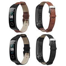 ใหม่สวมใส่สายรัดข้อมือสำหรับ Huawei Honor Band 5/4สร้อยข้อมือ Qyh