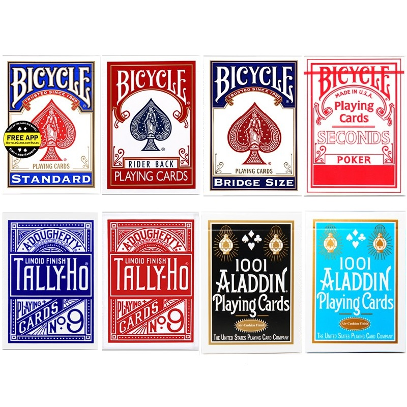 Bicycle Rider Back Standard Index Playing Cards Red/Blue Deck Seconds Poker New Sealed USPCC USA Magic Cards Magic Tricks Props