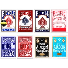 Bicycle Rider Back Standard Index Playing Cards Red/Blue Deck Seconds Poker New Sealed USPCC USA Magic Tricks Props