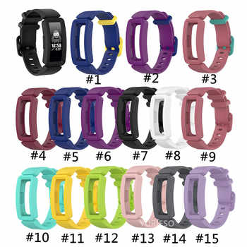 100PCS Silicone Wristband Strap Bracelet For Fitbit Inspire / Inspire HR Fitbit ace 2 ACE2 Smartwatch Replacement Watch Band