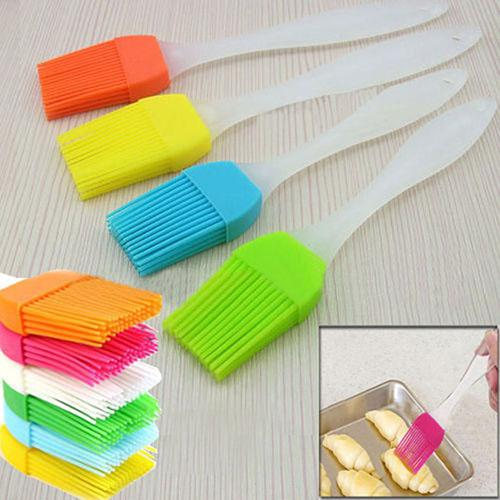 Silicone Bread Bastings Brush Silicone Baking Bakeware Bread Cook Brushes Baking Accessories Oil BBQ Bastings Baking Tools