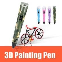 3D Druck Stift Magie DIY 3D Stift/Bleistift 3 d griff Kunststoff PLA Filament 1,75mm Für Kid Kinder bildung Zeichnung Spielzeug Geburtstag