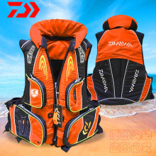 2019 DAIWA Caution Reflected Light Fishing Life Jacket Vest Summer High Buoyancy 120 kg Multi-function DAWA Outdoors