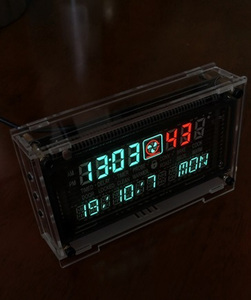 Image 5 - 12 / 24 hour High Precision VFD clock Electronic time RX8025T VFD display Hour / minute / second /day / week LED Uhr