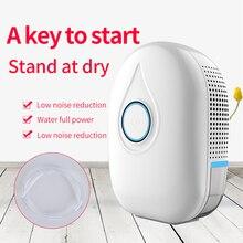 Air Dehumidifier Air Dryer Semiconductor Mini Portable Moisture Absorber Home Bathroom Low Noise Cabinet Dehumidifiers 500ML