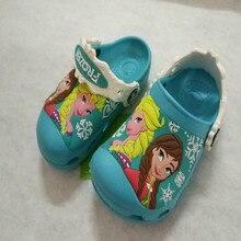 Детские тапочки Снежной королевы, Эльзы, Анны, Софии; коллекция года; обувь для плавания; детская водонепроницаемая обувь; нескользящие детские тапочки; милая обувь для девочек