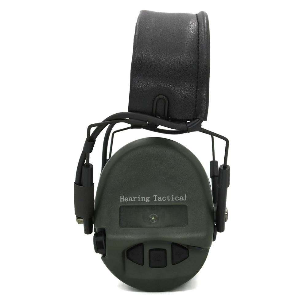 HEARING TACTICAL Tactical No Noise Reduction Function Headphones Ear Protection Protective Earmuffs