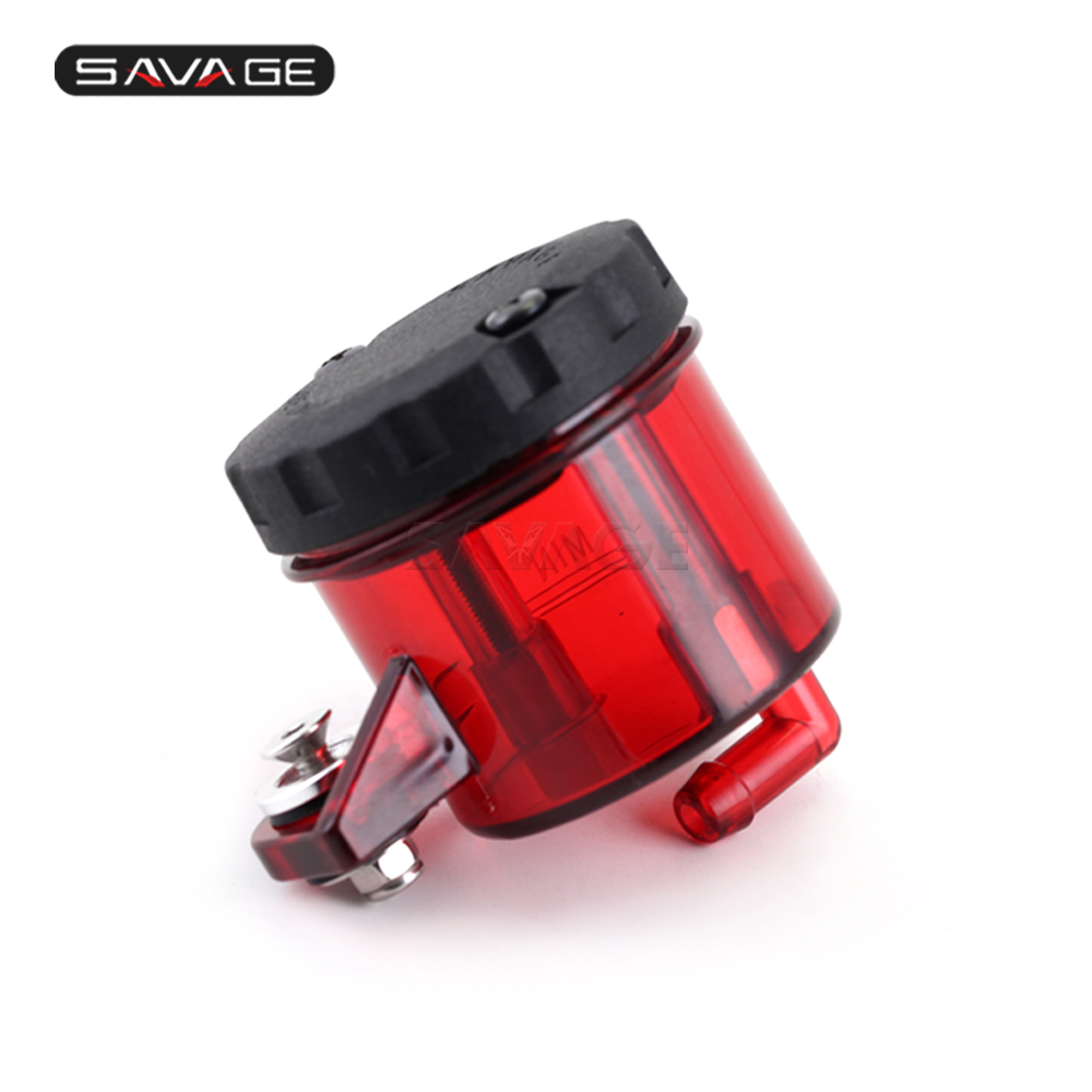 For Ducati 748 996 998 916 All Red CNC Front Brake Cylinder Fluid Oil Tank